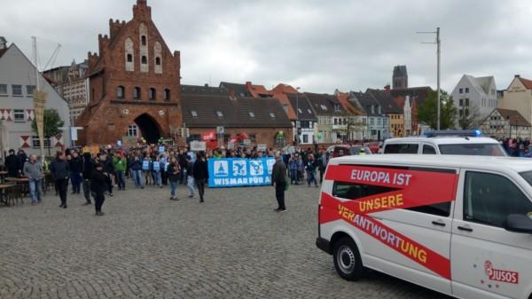 Am 01. Mai 2019 findet eine Demonstration für Toleranz und Vielfalt in Wismar statt.