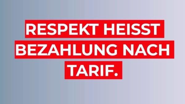 SPD Mecklenburg-Vorpommern: Respekt heisst Bezahlung nach Tarif